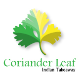 Coriander Leaf Indian Takeaway, Chichester, West Sussex Logo